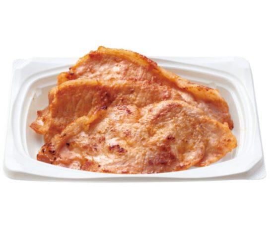 豚の味噌焼おかずの画像