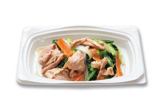 豚野菜炒めおかず