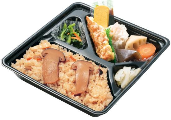 松茸ごはん弁当の画像